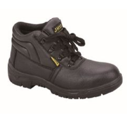 SAFETY WORK PROTECTION LEATHER FOOTWEAR